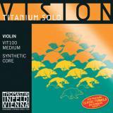 VN VISION TITANIUM SOLO G線 シンセティックコア/シルバー巻