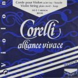 VN Corelli Alliance Vivace D線 シンセティックKF/シルバー・アルミニウム巻