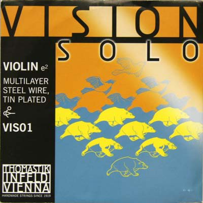 VN VISION SOLO E線 ワウンドスチールコア
