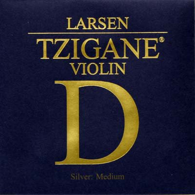 VN Lasen Tzigane D線 4/4 シンセティックコア/シルバー巻
