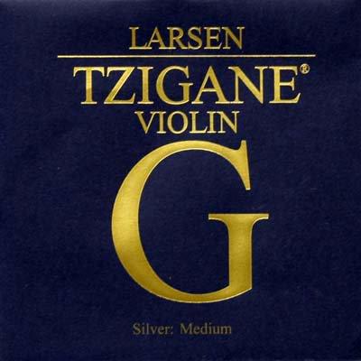 VN Lasen Tzigane G線 4/4 シンセティックコア/シルバー巻