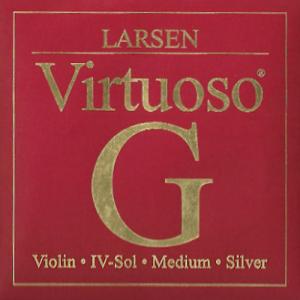 VN LARSEN Virtuoso G線 4/4 シンセティックコア/シルバー巻
