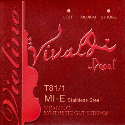 VN Dogal Vivaldi E線 4/4 ステンレス スチール