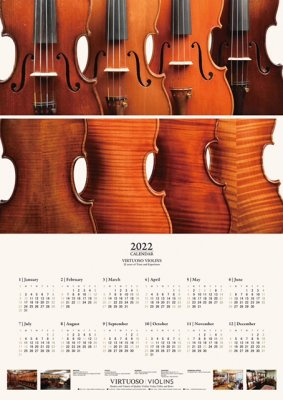 VIRTUOSO Original Calendar  2021 NAVY