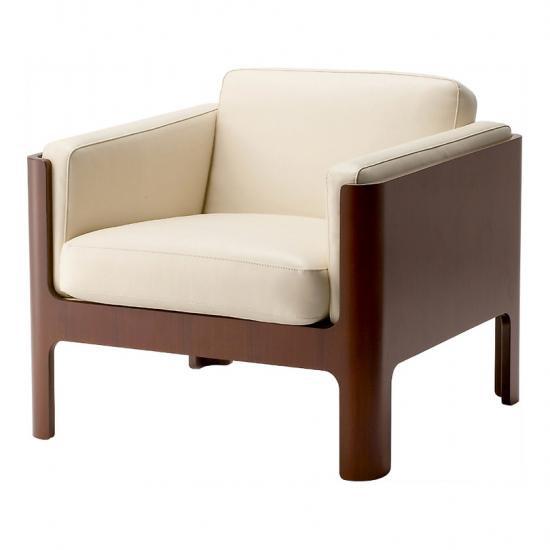 剣持勇 S-7008R 箱型椅子