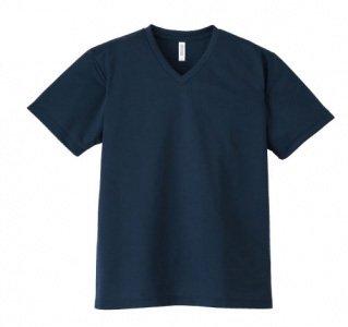 4.4オンス ドライ Vネック Tシャツ:glimmer(グリマー) 【00337-AVT】