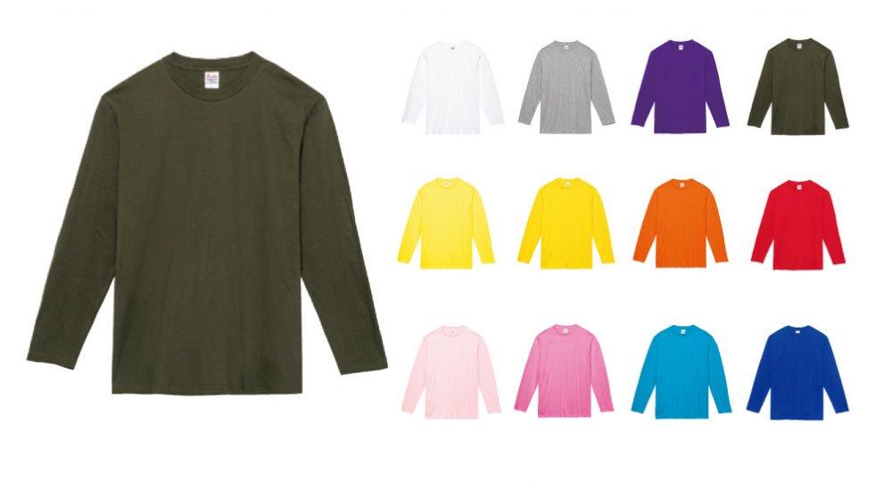 874065a27b7a02 5.6オンス ヘビーウェイト長袖Tシャツ:Printstar(プリントスター)00102-CVL