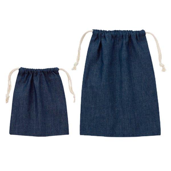 デニム巾着【TR-0918/0919】