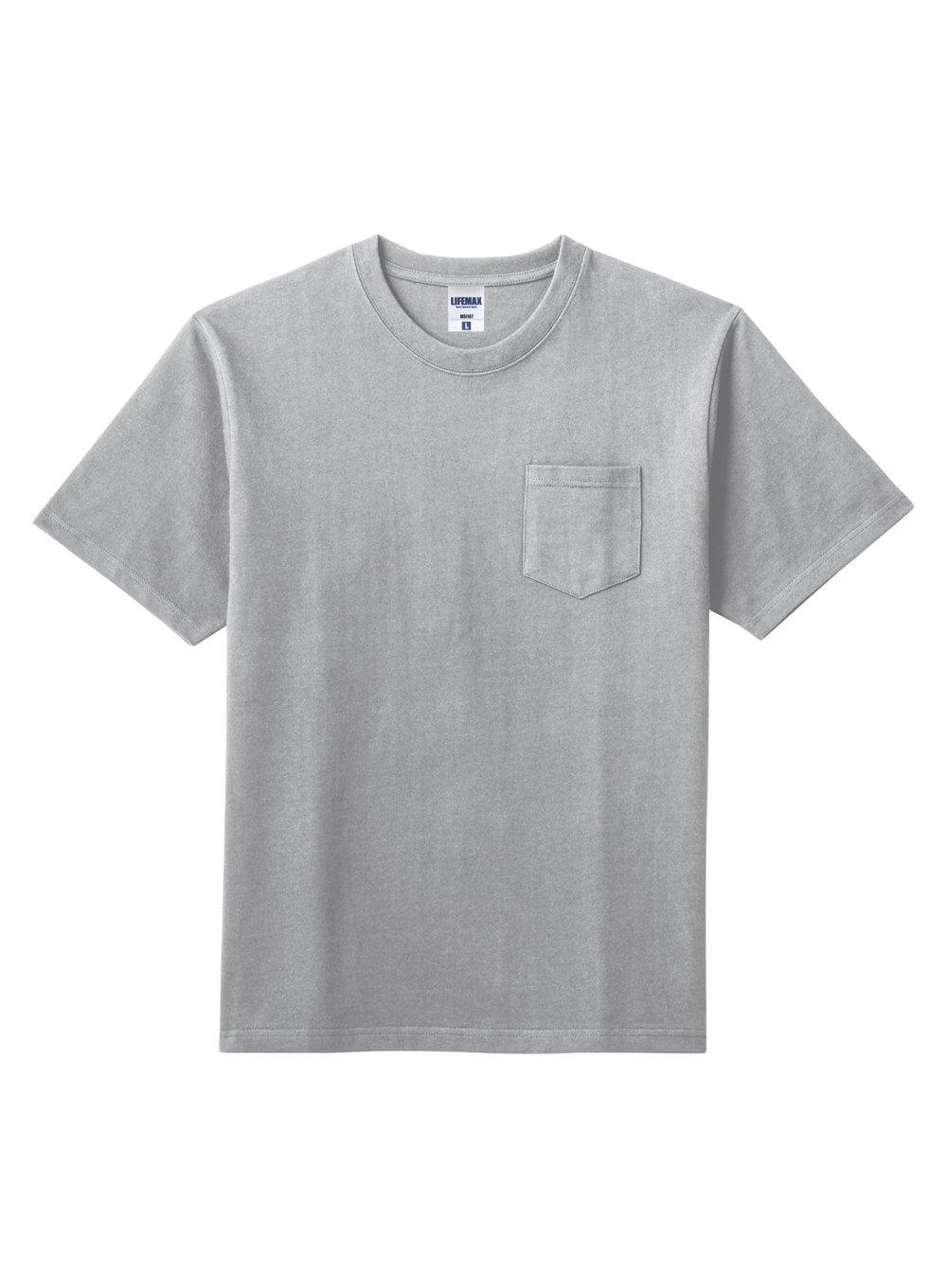 10.2オンスポケット付きスーパーヘビーウェイトTシャツ :BONMAX-MS1157