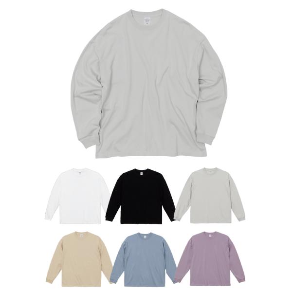【5509-01】5.6オンス ビッグシルエット ロングスリーブ Tシャツ:UnitedAthle urban label