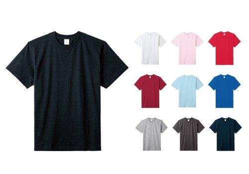 5.6オンスハイグレードコットンTシャツ:LIFEMAX(ライフマックス)【MS1161/MS1161O/MS1161W/MS1161WO】