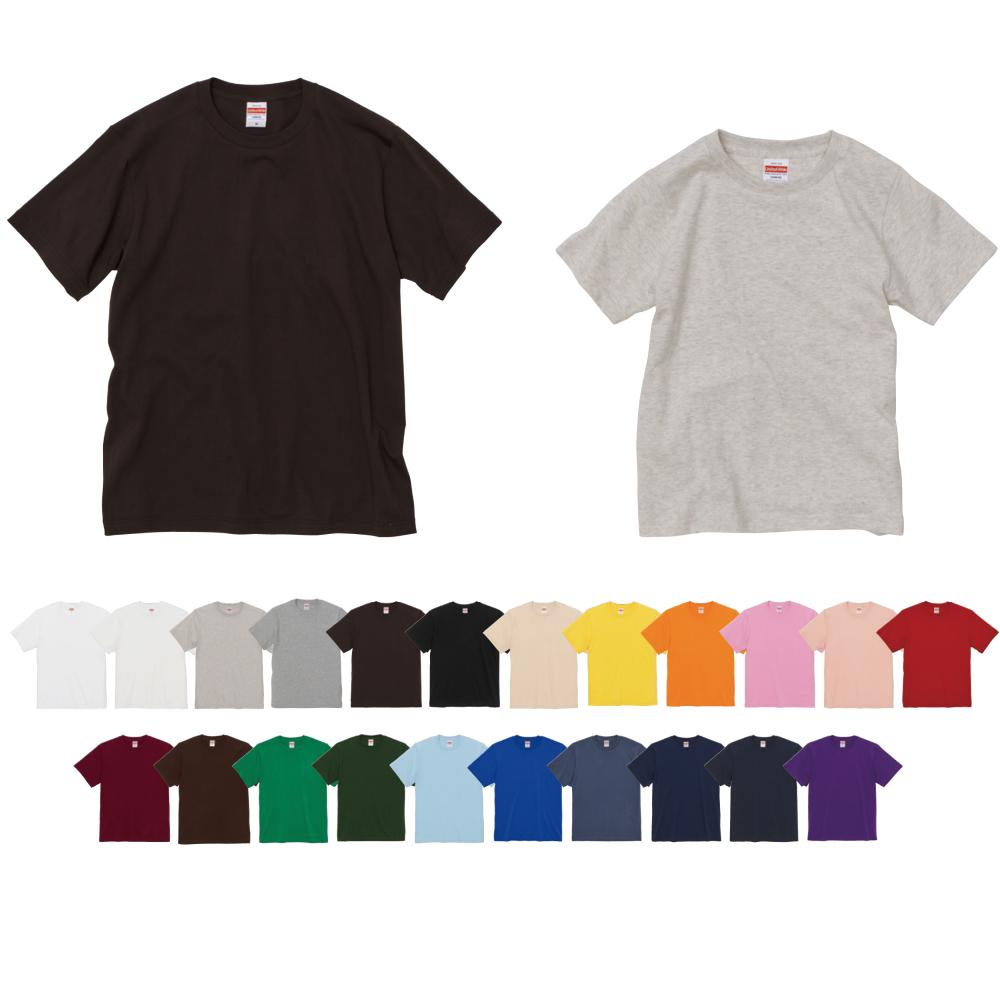 【5400-01/5400-02】5.0オンス ユニバーサル フィット Tシャツ:UnitedAthle