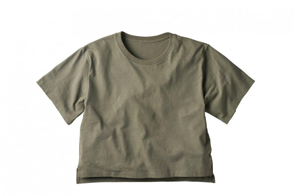 オープンエンド マックスウェイト ウィメンズオーバーTシャツ:TRUSS-【OE1301】