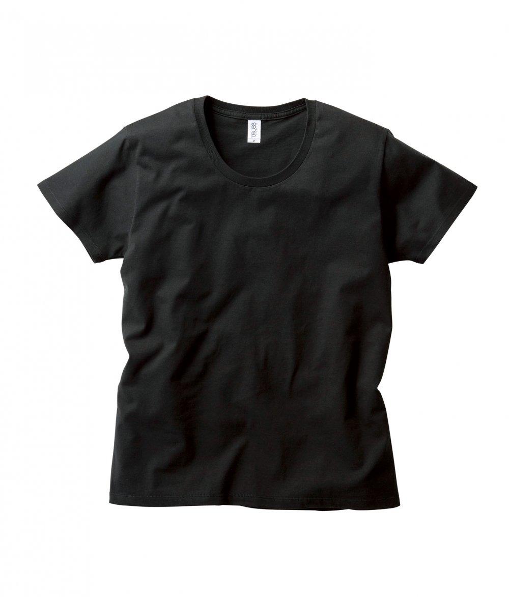 スリムフィット UネックTシャツ:TRUSS-【SFU-114】