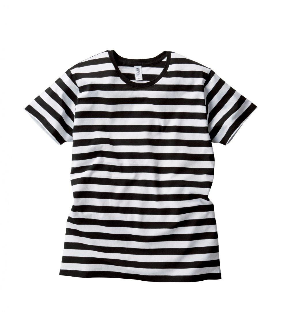 ボーダー Tシャツ:TRUSS-【SBT-125】