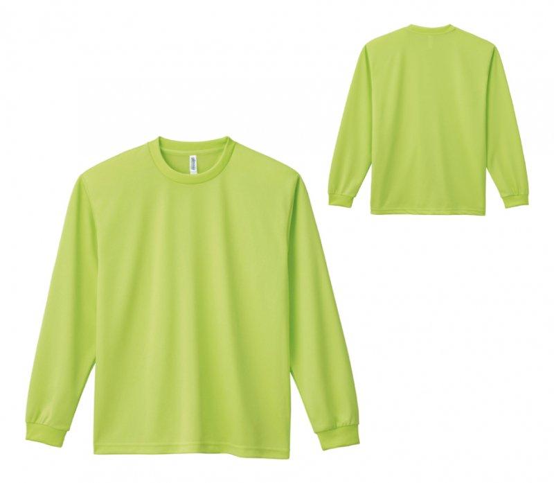 4.4oz ドライロングスリーブTシャツ:glimmer(グリマー) 【00304-ALT】