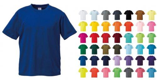 4.1オンスドライアスレチックTシャツ:ユナイテッドアスレ 5900-01/5900-02