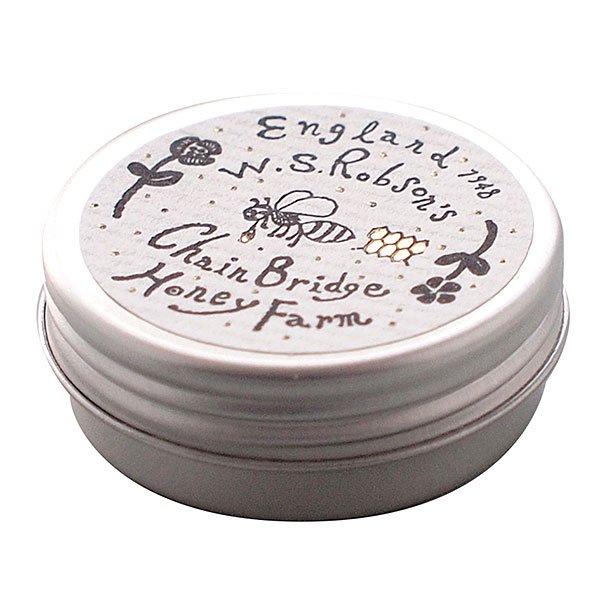 イギリス製 ブリキ缶ケース(デザインシール付/携帯用) ※メール便可