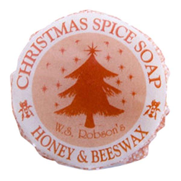 オーガニック ハニー&ビーワックス ソープ クリスマススパイス