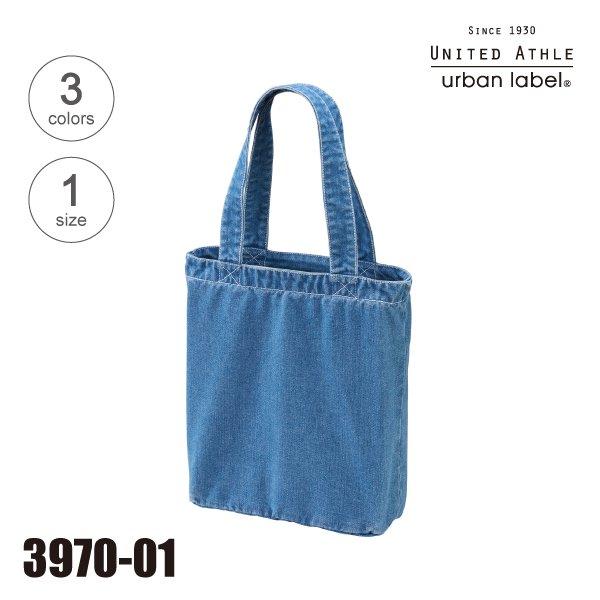 3970-01 デニムトートバッグ★ユナイテッドアスレ(United Athle)