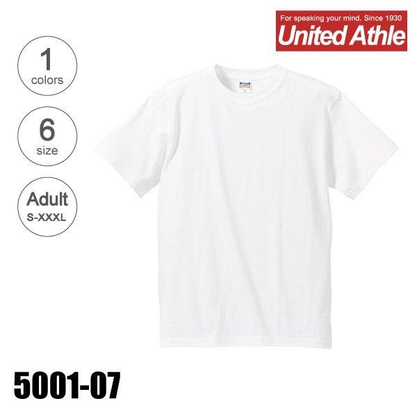 5001-07 5.6オンスP.F.D.ハイクオリティーTシャツ(S-XXXL)(後染め用)