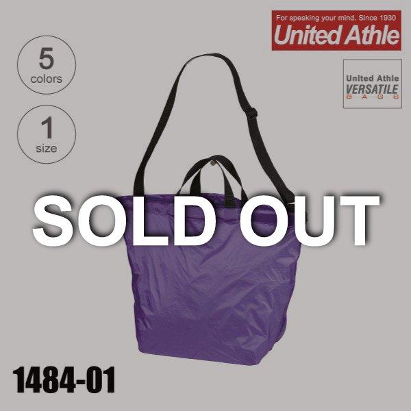 1484-01 ライトナイロン2WAYショルダーバッグ【完売】★ユナイテッドアスレ(United Athle)