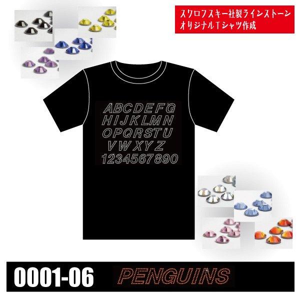 「0001-06 PENGUINS/スワロフスキー社製ラインストーンでオリジナルTシャツ作成【製作中止】」の画像(United Athle.net)