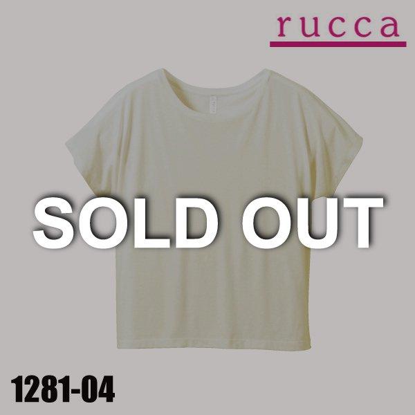 1281-04 4.1オンス ドルマンスリーブTシャツ(ガールズ)★ルッカ(rucca) 【完売】