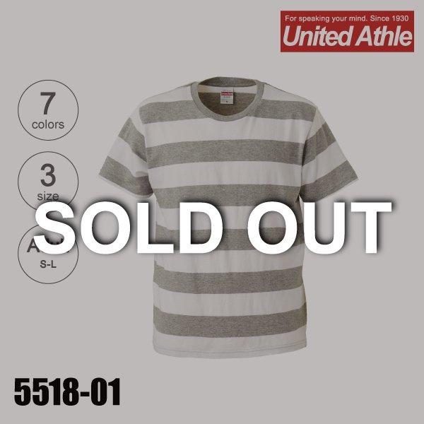 ユナイテッドアスレ無地Tシャツ「品番:5518」