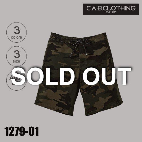 「1279-01 ストレッチクロスショーツ(M〜XL)【完売】★キャブクロージング(C.A.B.CLOTHING)」の画像(United Athle.net)