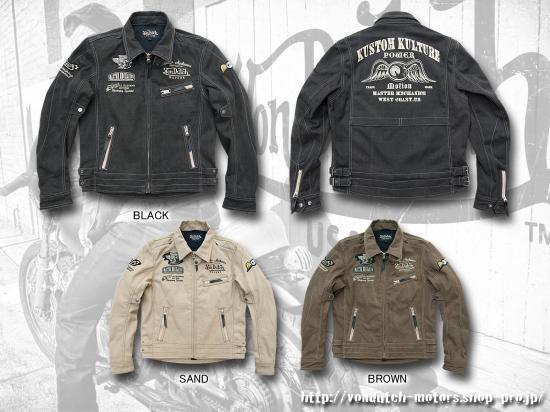 【Von Dutch motors】VOM-J15 Cotton Jackets