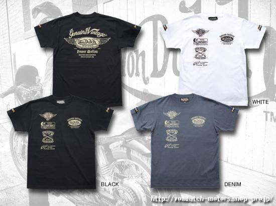 【Von Dutch motors】VOM-T24  T-Shirts