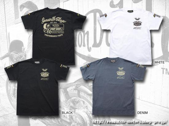 【Von Dutch motors】VOM-T25  T-Shirts