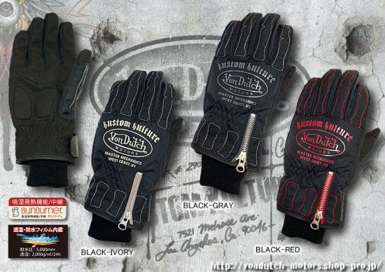 【Von Dutch motors】VOM-WG02 Winter Glove