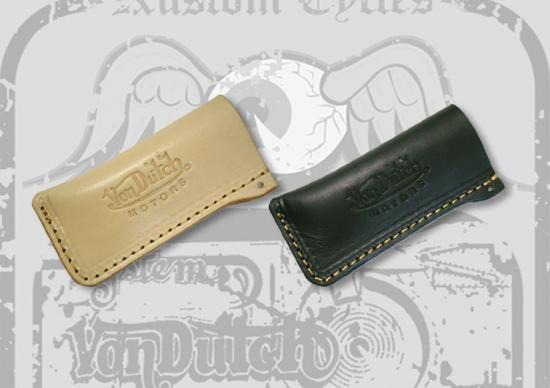 【Von Dutch motors】VOM-LC1   Leather Lighter Cases