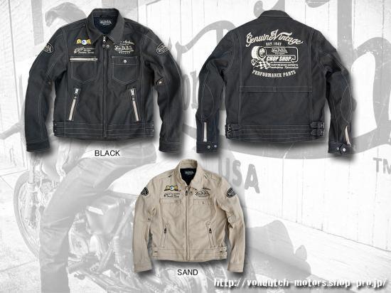 【Von Dutch motors】VOM-J16 Cotton Jackets