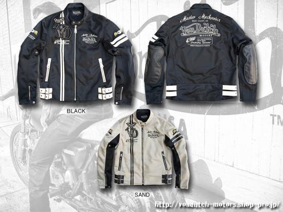 【Von Dutch motors】VOM-MJ14 Mesh Jackets
