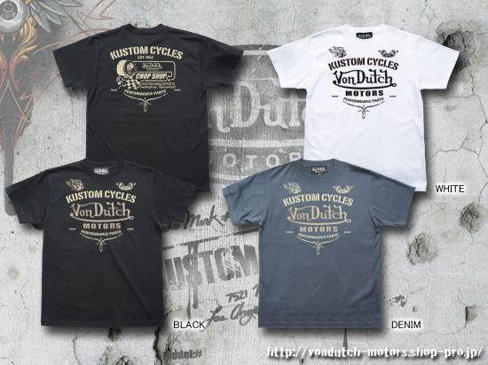 【Von Dutch motors】VOM-T20  T-Shirts