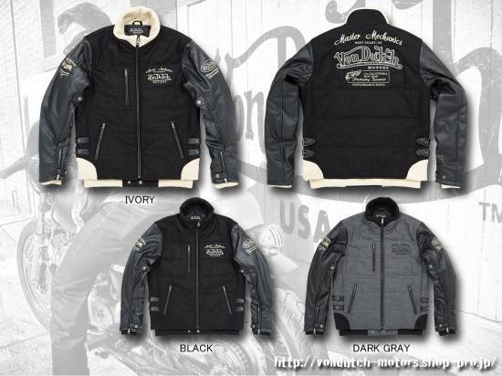 【Von Dutch motors】VOM-WM04 Melton Jackets