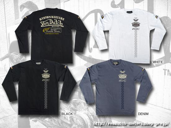 【Von Dutch motors】VOM-LT22 Long Sleeve T-Shirt