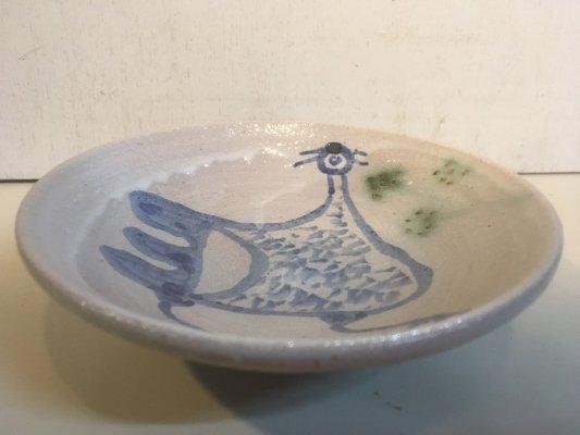 呉須絵小皿