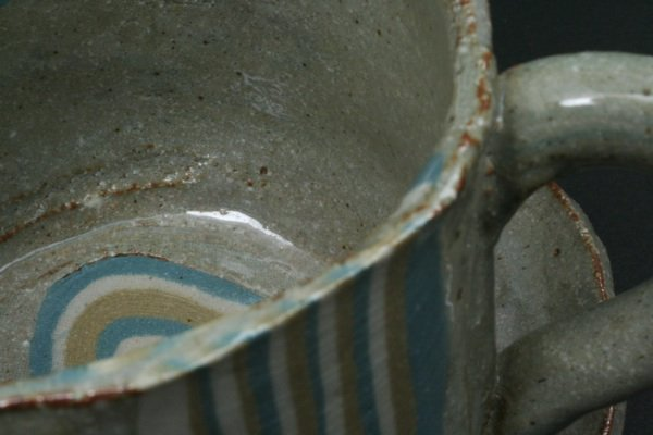 練りこみカップ皿