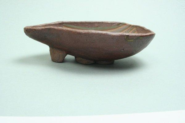 墨つぼ型練りこみ皿(釉ナシ)