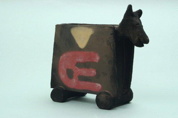 野焼きナフキン立て(馬)