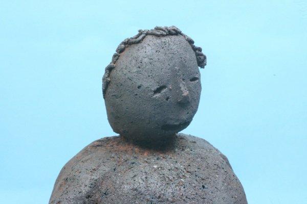 泥人形「暖かいナー」