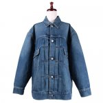 <img class='new_mark_img1' src='//img.shop-pro.jp/img/new/icons1.gif' style='border:none;display:inline;margin:0px;padding:0px;width:auto;' />HYKE ハイク<br>DENIM JACKET TYPE2/BIG FIT