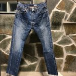<img class='new_mark_img1' src='//img.shop-pro.jp/img/new/icons47.gif' style='border:none;display:inline;margin:0px;padding:0px;width:auto;' />OLDPARK SLIM FLARE JEANS NO.M-2<br>オールドパーク デニム 02