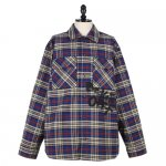 OFF-WHITE c/o Virgil Abloh<br>オフホワイト<br>OMGF9-289<br>FLANNEL CHECK SHIRT<br>12