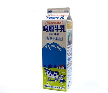 島原牛乳1L