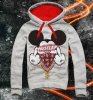 E1SYNDICATE Hooded Sweatshirt  A.C.A.B HUSTLER MOUSE